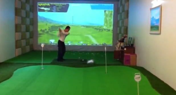 MiniGolf Simulator at Vaxuco, Hanoi